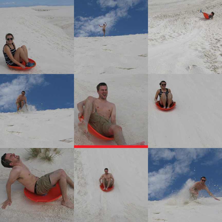 White Sands collage3